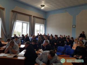 Институт был приглашен в УВД г. Людиново